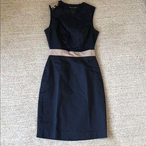 Paige black label navy dress